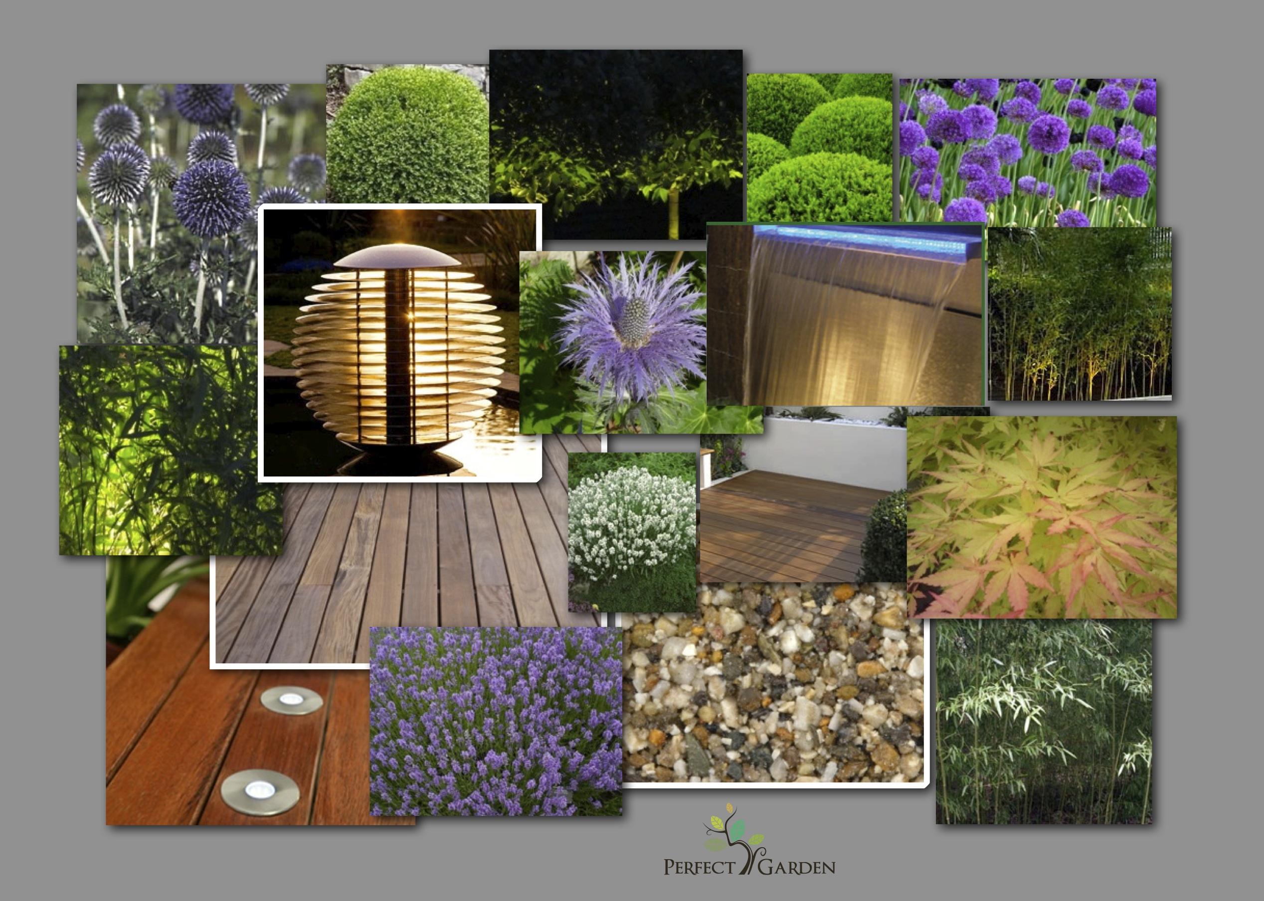 Perfect garden concept board perfect garden for Perfect garden design