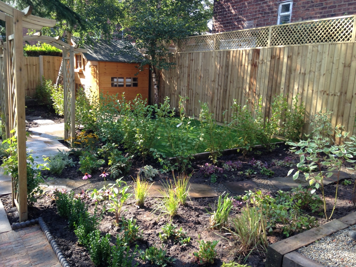 Perfect garden garden design lancashire perfect garden for Perfect garden design